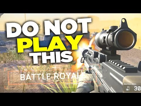 DO NOT Play Warface Battle Royale!