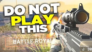 DO NOT Play Warface Battle Royale!