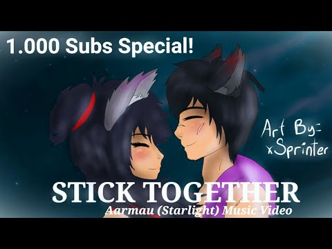 Stick Together//Aarmau❤💜 (Starlight) Music Video [1.000 Subs Special] //For Aphmau\\