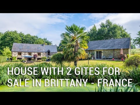 Characterful Home With 2 Separate Gites For Sale In Brittany - Ref.: 100861CCU56
