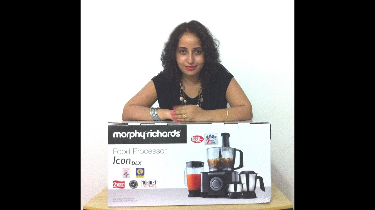 Morphy Richards 750 Watts: Morphy Richards Icon Dlx Food Processor Review Best Food
