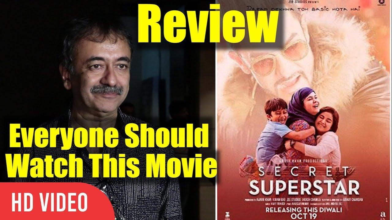 Rajkumar Hirani Review Secret Superstar Movie