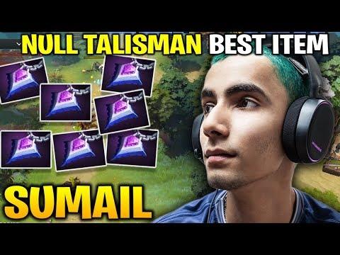 SUMAIL Null Talisman Best Item Tactic Dota 7.20e