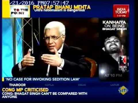 India Today:  Pratap Bhanu Mehta's interview on the current political situation in India
