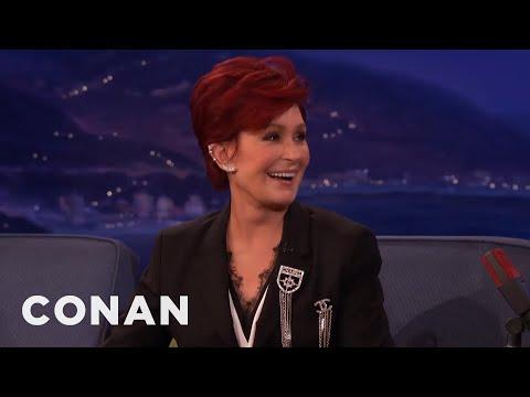 Sharon Osbourne's Naughty Restaurant Behavior  - CONAN on TBS