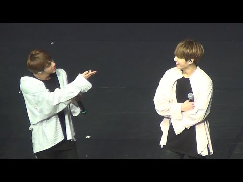170320 BTS The Wings Tour in Brazil Fancam Part 17 - Talk In portuguese