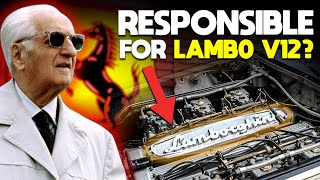 homepage tile video photo for How Enzo Ferrari Was Responsible For The Lambo V12