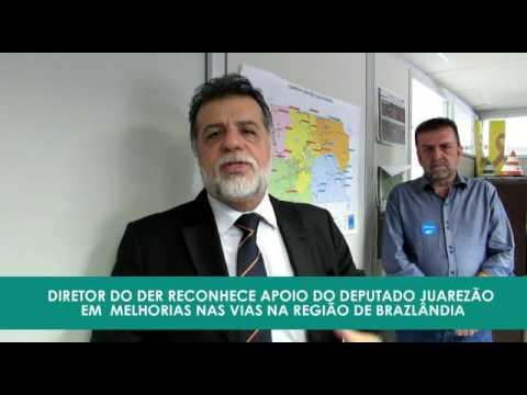 Henrique Luduvice reconhece o empenho do deputado Juarezão para tornar possível a realização de obras em Brazlândia