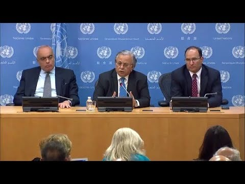 Secretary-General's report on children and armed conflict - Press Conference (6 October 2017)