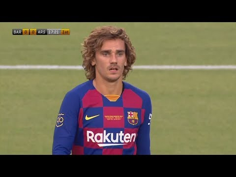 Antoine Griezmann Debut Games For Barcelona! | Pre-Season Highlights