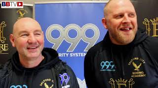 LEE CARTER WEIGH-IN AND INTERVIEW WITH COACH GARY BOOTH