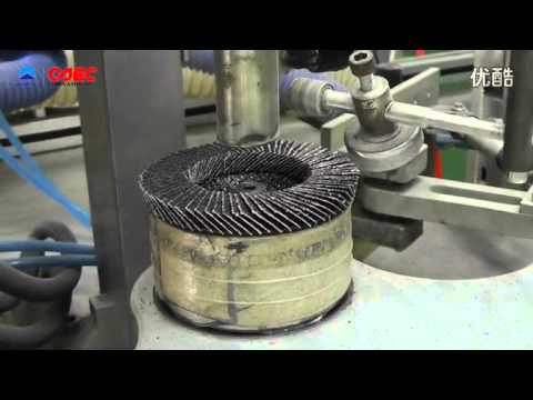 Full Automatic Flap Disc Machine Youtube
