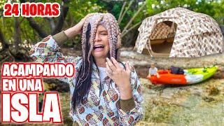 UN PULPO NO! 😱 ACAMPANDO en una ISLA DESIERTA Y PASA DE TODO 🔥 RETO 24 HORAS El Mundo de Camila