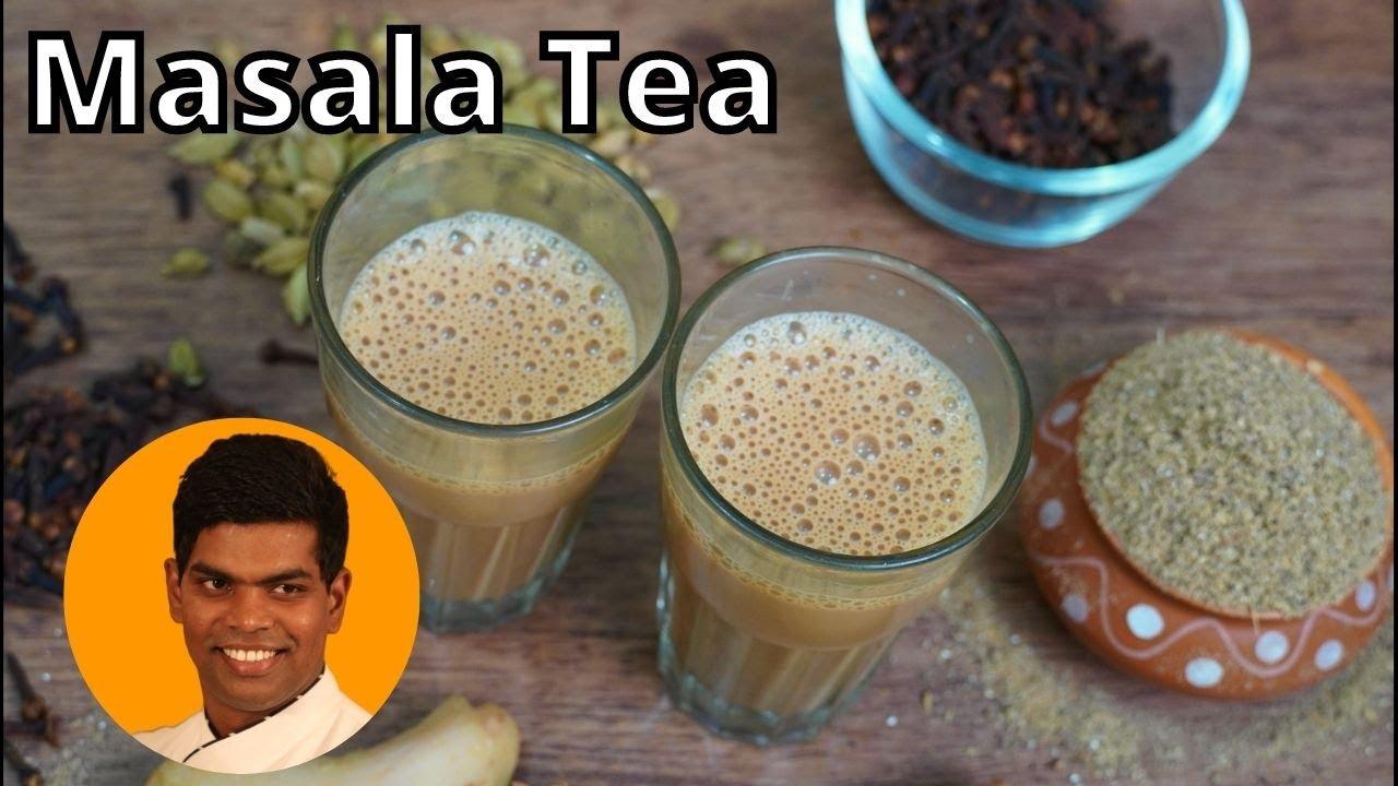 Masala Tea Recipe in Tamil | How to Make Masala Chai | Tea Recipe | CDK #260 | Chef Deena's Kitchen