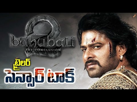 Thumbnail: Baahubali 2 Trailer Censor Talk | Latest Telugu Cinema Updates