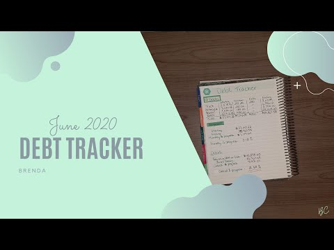 Debt Review | Budget with me | June 2020