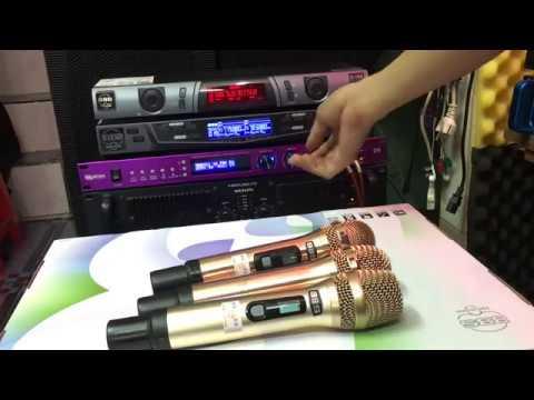 Micro Không Dây BBS 6 Số S-100S Karaoke gia đình, Karaoke Kinh Doanh, Làm Show âm Thanh