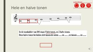 Les 21: Toonladder van Do
