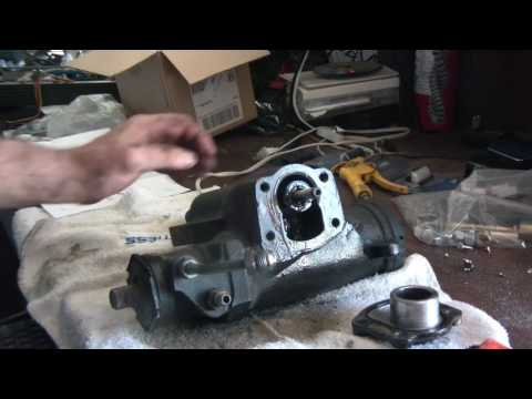 Early Bronco Power Steering Gear Rebuild Saginaw