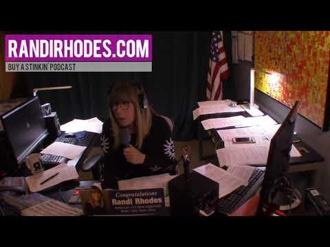 DONALD TRUMP HAS A MAN BUTTON ~ 1-3-18 ~ YouTube.com/RandiRhodesShow/LIVE