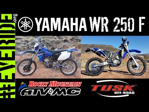 Yamaha WR250F Rocky Mountain ATV MC TUSK Makeover/Rebuild! o#o