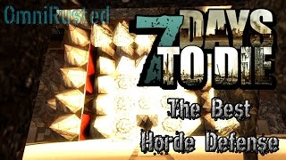 The Best 7 Days to Die Horde Defense. Campfires are overpowered!