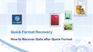 recover data after quick format hard drive, usb drive, memory card, sd card, etc.