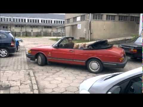 saab 900 turbo 16v cabrio convertible 1988 youtube. Black Bedroom Furniture Sets. Home Design Ideas