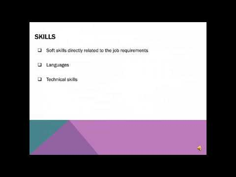 resume writing workshop youtube