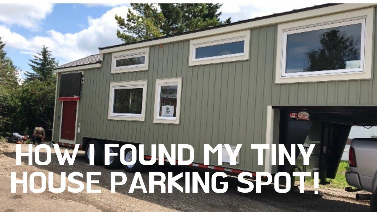 How I Found My Tiny House Parking Spot