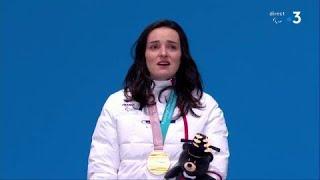 La Marseillaise retentit pour Marie Bochet - Jeux Paralympiques