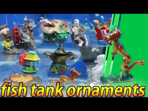 Fish Tank Ornaments -10 Aquarium Ornaments