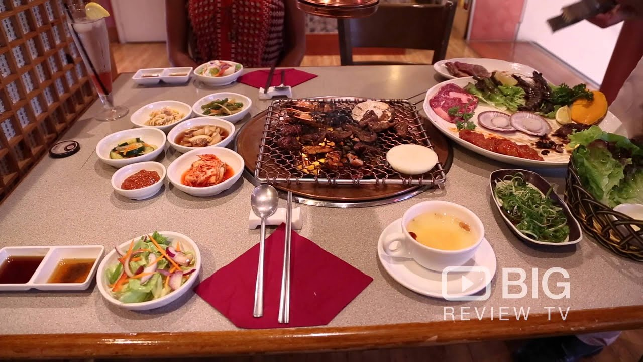 Paradise korean charcoal bbq restaurant in broadbeach qld - How to build a korean bbq table ...