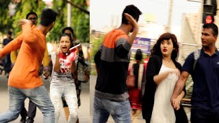 Slapping Prank on Cute Girls 😲😲Prank Gone Wrong -  PrankBuzz | Part- 2 | Prank in Kolkata