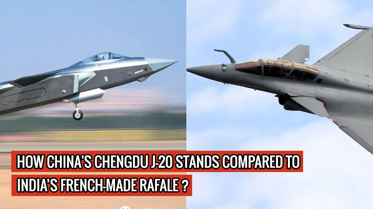 CHINESE CHENGDU J20 vs INIDIA'S FRENCH MADE RAFALE - UNBIASED COMPARISON & ANALYSIS !