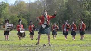 Scottish Sword Dance - Mississinewa 1812 - 42nd Royal Highlanders
