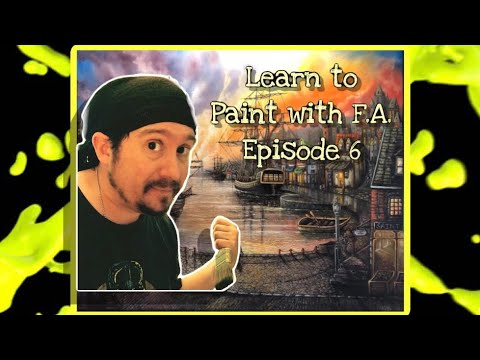 "🎨 🅻🅴🅰🆁🅽 to 🅿🅰🅸🅽🆃 with 🅵🅰 💡? Painting ideas with F.A.! Episode 7: Support ""The Arts!!!"""