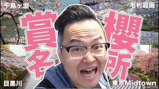 東京賞櫻全攻略①-千鳥ヶ淵、毛利庭園、東京Midtown、目黒川《阿倫去旅行》