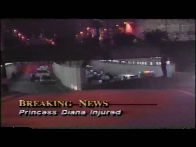 Princess Diana Injured, Initial Reports