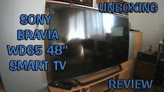 SONY BRAVIA WD65 SMART TV - UNBOXING AND REVIEW