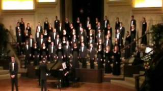 Baylor A Cappella Choir Tour 2011 - City Called Heaven