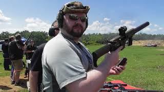 NFA Review Shoot 2018 - CMMG Banshee и Tavor 7 - 308 с глушителем