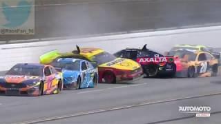 NASCAR Cup Series 2019_Manche 31_1000Bulbs.com 500_Course_Big one 2 (en français - Automoto  la chaî
