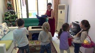 Китайский автомобиль из картона для детей - Жизнь в Китае #122