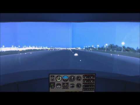True 201 degrees FOV P3D Flight Simulator-Piper Cherokee 180(A2A)-NAIA Scenery(Pacsim)