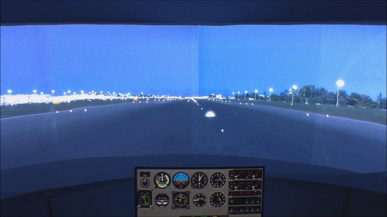 True 201 degrees FOV P3D Flight Simulator-Piper Cherokee 180(A2A)-NAIA  Scenery(Pacsim)