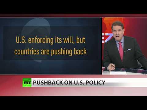 US threatens total banking ban on Huawei