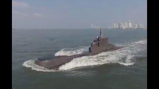 Viaje al fondo del mar: así patrulla el Mar Caribe el submarino ARC Indomable