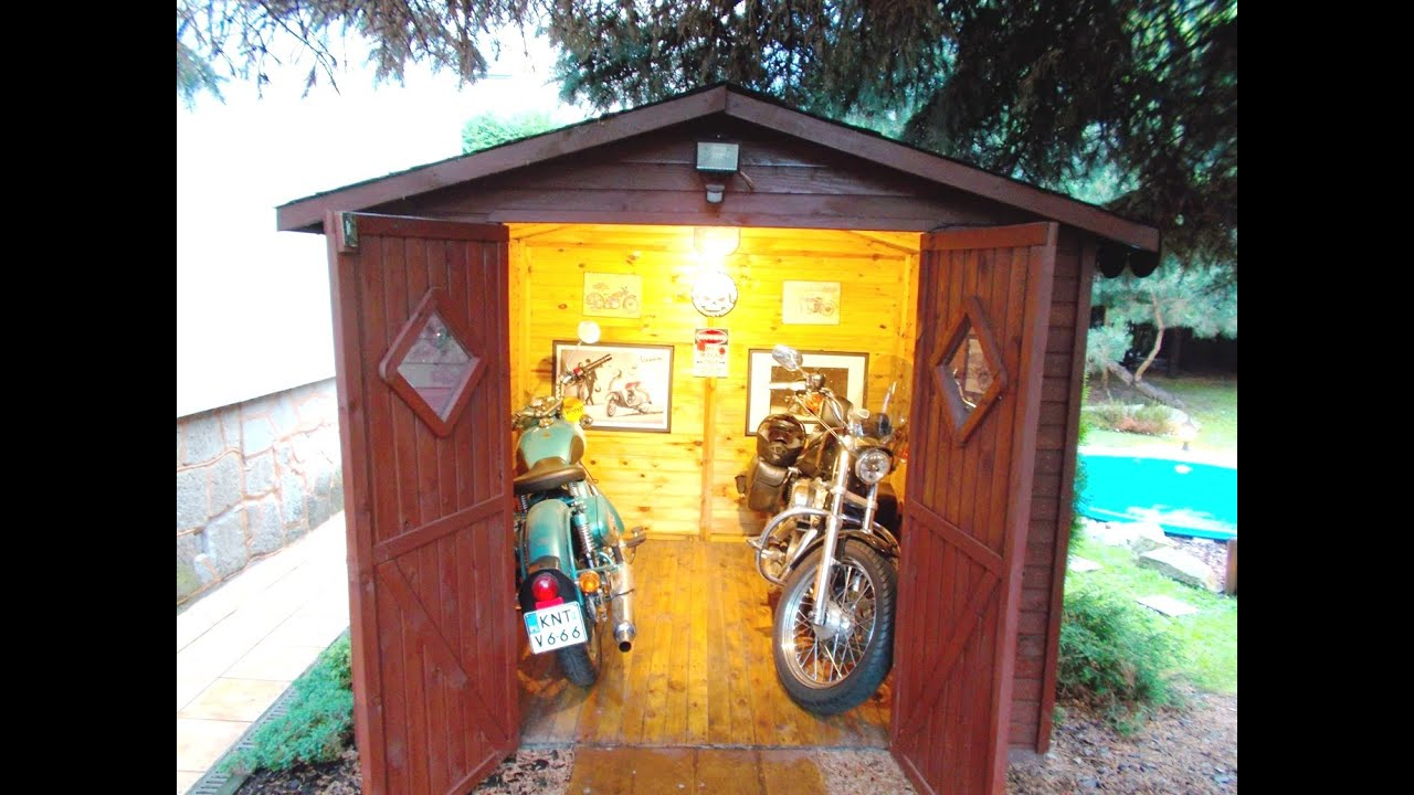 $300 Motorcycle Shed (please read the detailed description below ...
