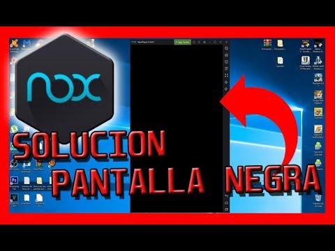 Solucion pantalla Negra en Nox POKEMON GO
